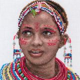 Masai Woman Portrait