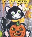 Cat and Pumpkin Wall Hanging