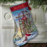Christmas Sled Stocking
