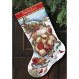 Santa's Journey Stocking