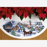 Sleigh Ride Tree Skirt