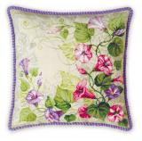 Pastel Bindweed Cushion