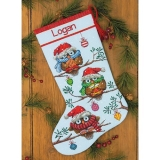 Holiday Hooties Stocking