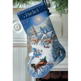 Sleigh Ride at Dusk Stocking