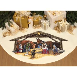 Nativity Scene Tree Skirt