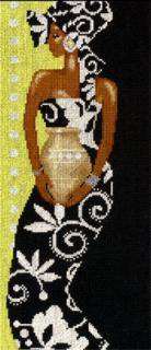 African Lady With Vase 14
