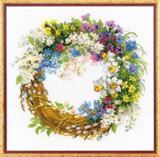 Wreath with Bird Cherry