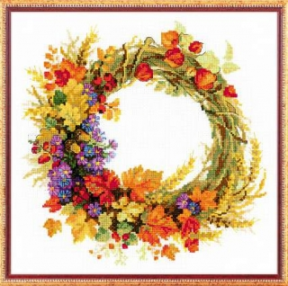Wreath with Wheat