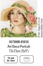 Art Deco Portrait